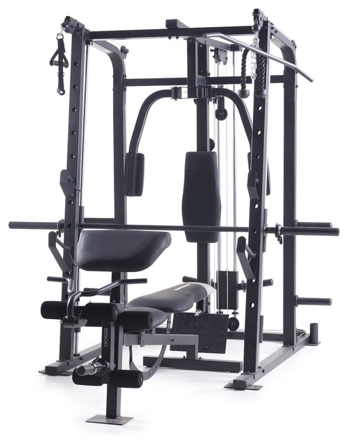 Weider Pro 8500 Smith Cage Traditional Home Gym