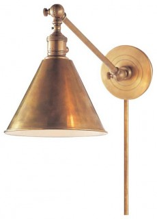 Boston Functional Library Wall Light Modern Wall Sconces By Circa Lighting