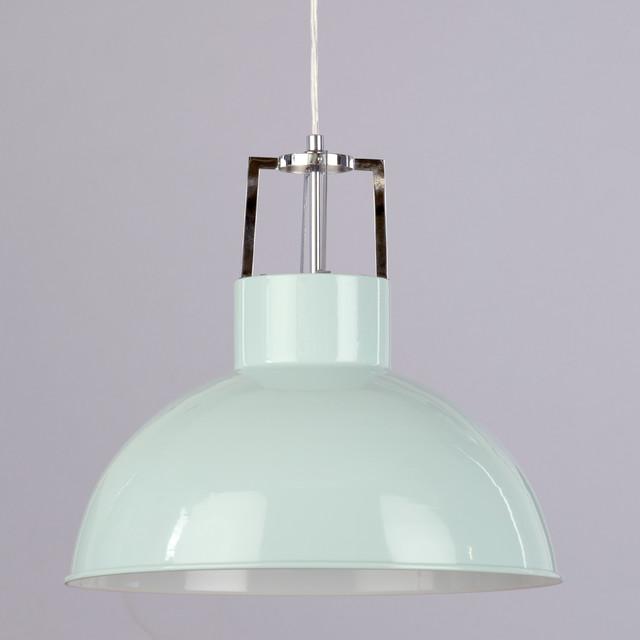 Murray Feiss P1234ri: 1 Light Industrial Parabolic Ceiling Pendant