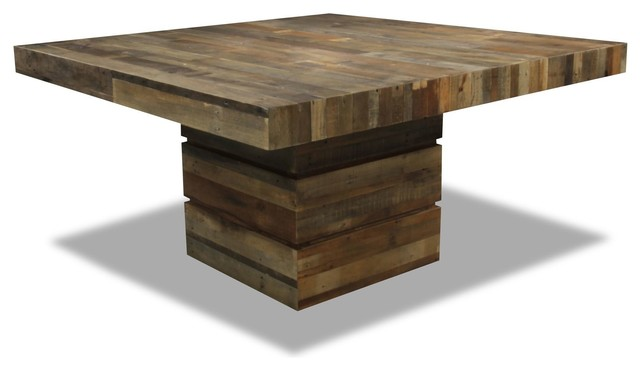 Tahoe Ii Square Dining Table Rustic Dining Tables