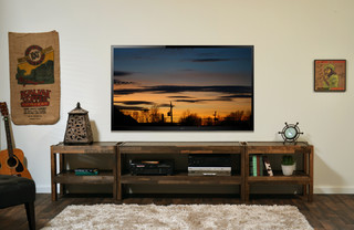 Reclaimed Wood Entertainment Center Presearth Spice