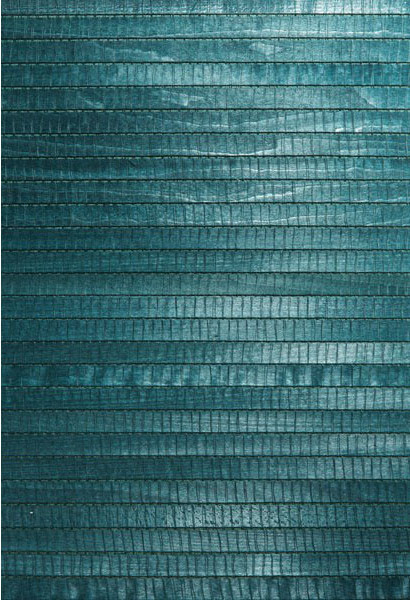 Mayumi aqua grasscloth wallpaper bolt eclectic for Vinyl grasscloth wallpaper bathroom