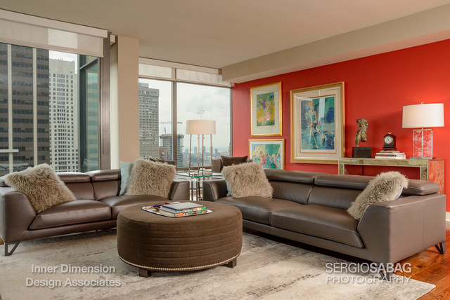 Yorkville Condo Modern Living Room Toronto By