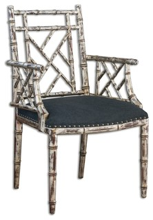 Macawi Accent Chair By Uttermost Transitional Armchairs And Accent Chairs
