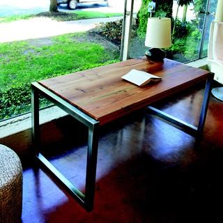 Reclaimed Long Leaf Pine Desk Modern Furniture