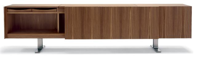 Ceccotti Sliding Doors Sideboard - Modern - Media Storage - by Switch Modern