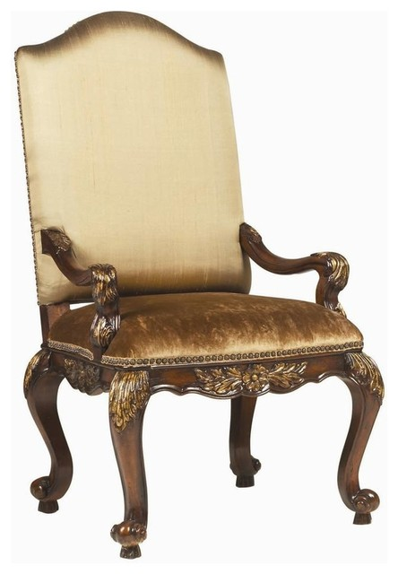 upholstered dining room arm chairs | Beladora Upholstered Arm Chair - Set of 2 - Traditional ...