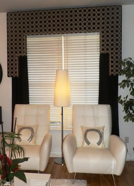 Window treatments contemporary atlanta by encore decor for Encore decor