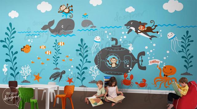 Children Wall Decal Wall Sticker Kids Decal by Designed Designer modern-kids-wall-