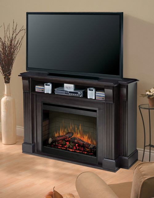langley espresso electric fireplace media center smp 160
