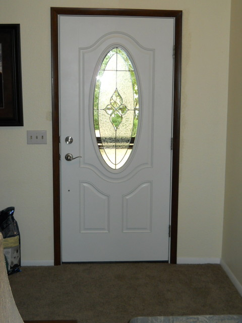 Front door with storm door contemporary front doors for Front entry doors with storm door