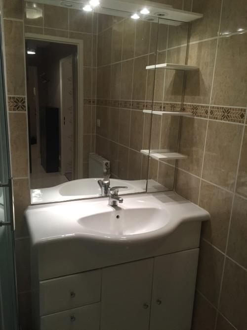 Ma petite salle d 39 eau est devenue une salle de bains - Petite salle d eau design ...