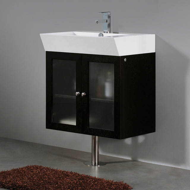 vigo 25 inch single bathroom vanity contemporary