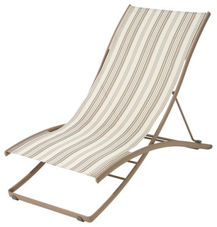 Beach style outdoor chaise for Chaise longue fermob