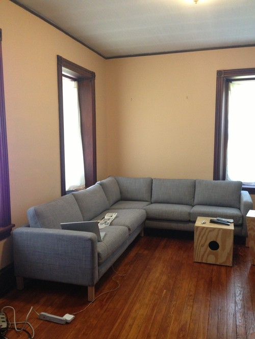 Help choosing living room paint color - Living room colours to go with grey ...