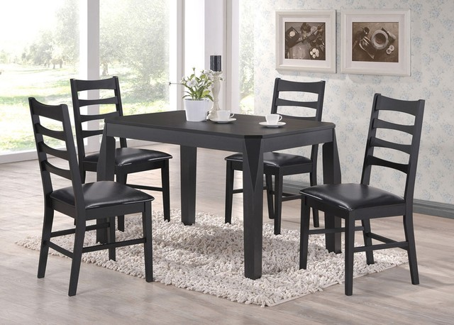 huy 5 pc dining set transitional dining sets other