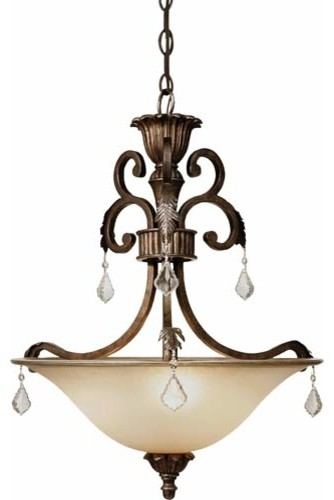 florence three light pendant traditional pendant