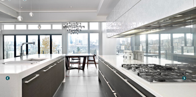 Edmonton Kitchen View To Dining Room And Beyond Contemporary Kitchen Edmonton By