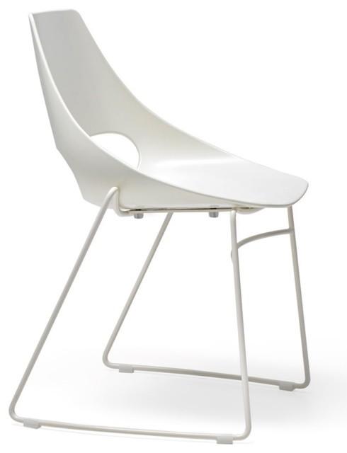 Les chaises de bar restaurant sledge - Chais e salle a manger moderne ...