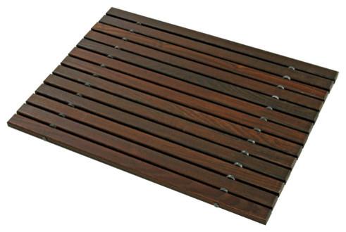 wooden bath mat bath mats new york by dar gitane. Black Bedroom Furniture Sets. Home Design Ideas