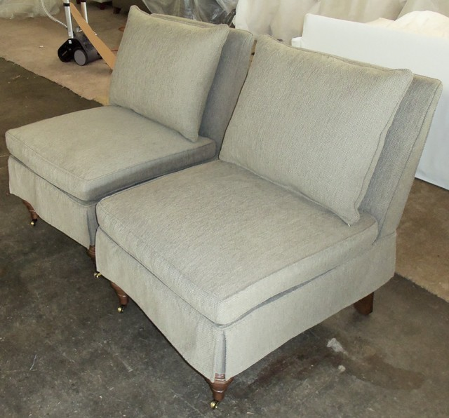2014 customer custom orders slipcovers and chair covers for Custom furniture seat covers