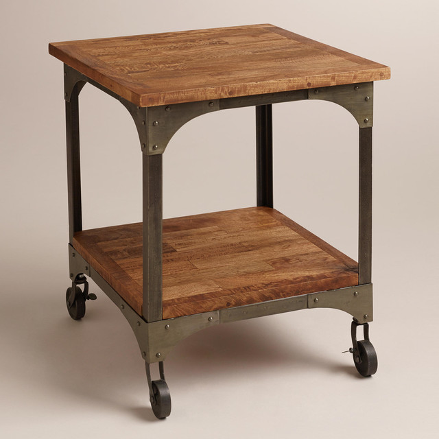 Aiden End Table - Industrial - Side Tables And End Tables ...