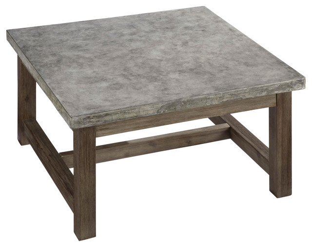 Http Www Houzz Com Photos 28644020 Concrete Chic Square Coffee Table Transitional Coffee Tables