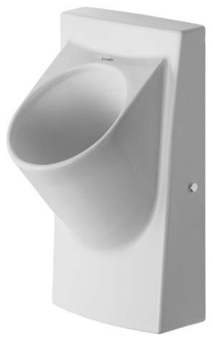 Duravit architec dry urinal modern toilets by ybath for Duravit architec toilet