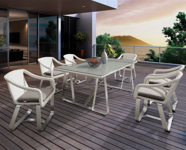 outdoor living higold smart dining set contemporary