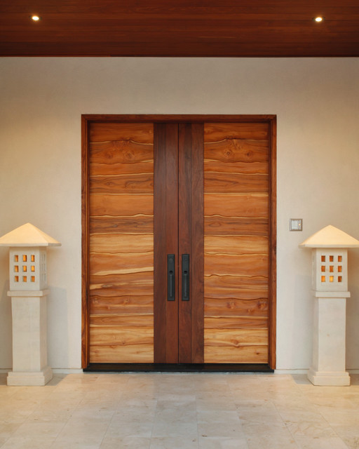 Pacific Coast Teak Collaboration With Jory Brigham Design Modern Interior Doors Los