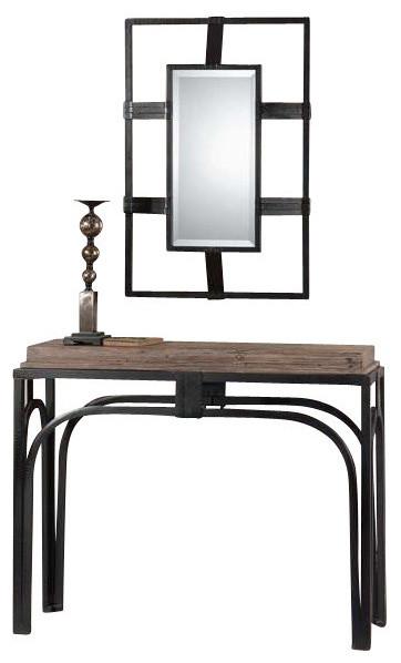 uttermost reidar console table modern konsolentische. Black Bedroom Furniture Sets. Home Design Ideas