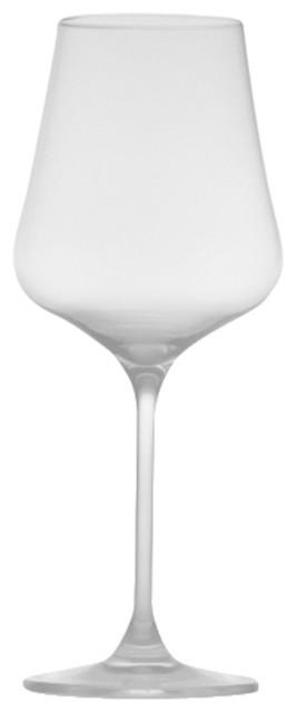 Crystal Wine Glass Set Of 24 Modern Wine Glasses
