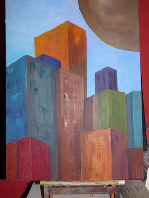 Peintures - Tableau d art moderne ...