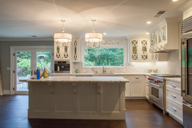 Empire Grade Transitional Kitchen Other Metro By Elegant Tile Works And Construction