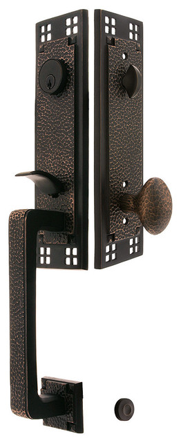 Arts Crafts Style Handleset Craftsman Door Hardware