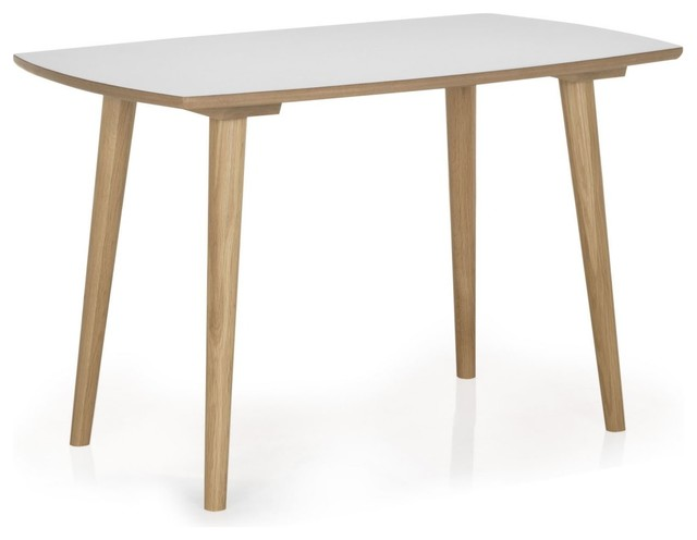 skandy table de cuisine l120cm scandinave table