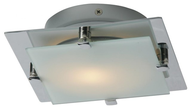 Contemporary Flush Wall Lights : Piccolo 1-Light Flush/Wall Mount - Contemporary - Flush-mount Ceiling Lighting - by We Got Lites