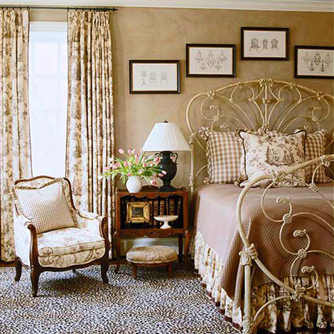 Decorating ideas toile fabric other metro