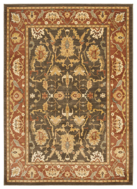 Safavieh Clearance Heirloom Hlm1666 2537 5 39 3 X7 39 6 Brown