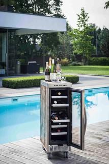 la barrique cooler weink hlschrank industriel. Black Bedroom Furniture Sets. Home Design Ideas