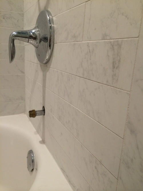 Bathroom Tile Bowed And Uneven