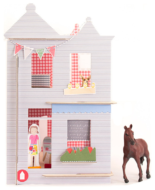 Logan Victorian Dollhouse - Contemporary - Baby And Kids Toys - by Lille Huset