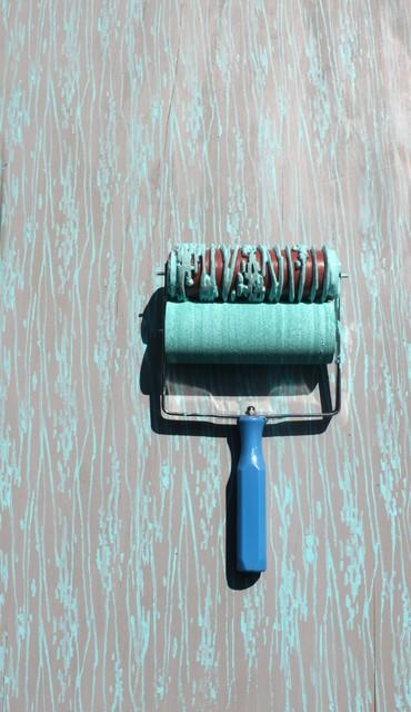 wood grain stencil roller 3