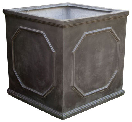 Chelsea Box Planter Traditional Outdoor Pots And