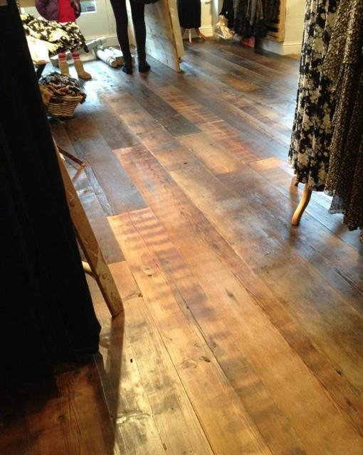 Brandy melville san francisco reclaimed industrial douglas for Reclaimed douglas fir flooring