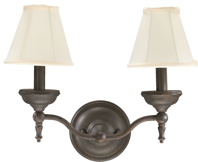 Quorum Wall Sconces : Quorum International 5436-2-44 Ashton Toasted Sienna Wall Sconce contemporary-wall-sconces