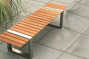 Boca Backless Bench By Kingsley Bate Modern Garden Benches San Francisc