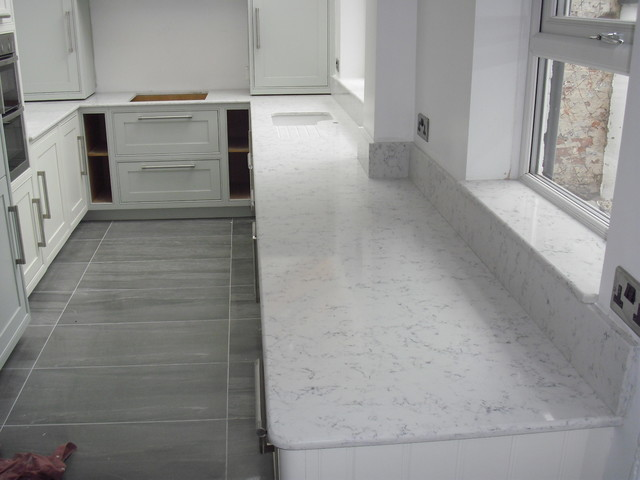 Countertop Edges Silestone : Lyra Quartz worktops, Silestone - Contemporary - manchester UK - by ...