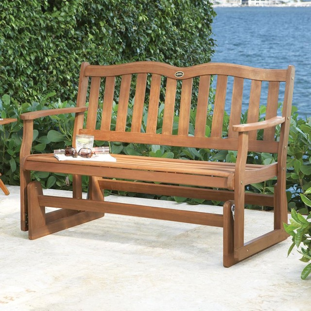 Image Gallery Outdoor Gliding Benches