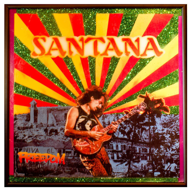 Glittered Santana 'Freedom' Album - Eclectic - Artwork - by mmm ...